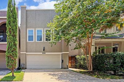 Houston Single Family Home For Sale: 1135 Louise Street