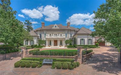 The Woodlands TX Single Family Home For Sale: $2,850,000