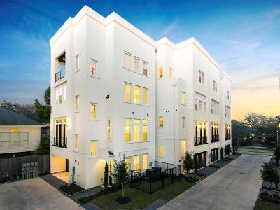 Condo/Townhouse For Sale: 4430 Yoakum Boulevard