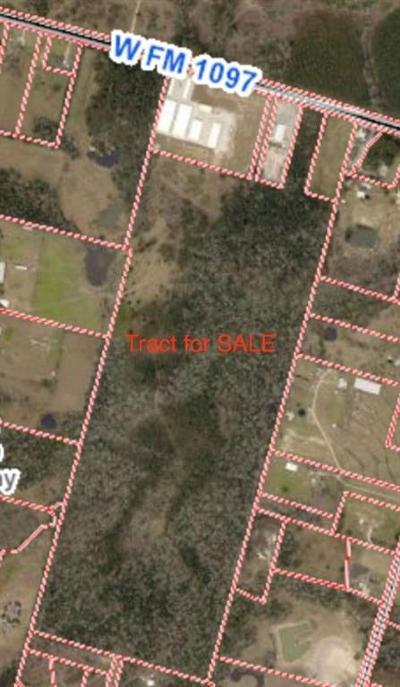 Willis Farm & Ranch For Sale: Fm 1097