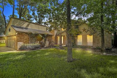 The Woodlands Single Family Home For Sale: 72 Woodhaven Wood Drive