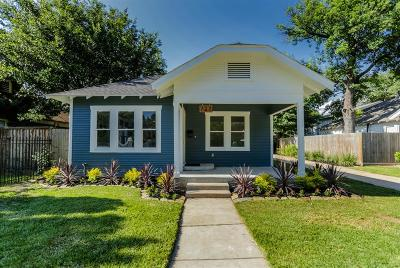 Houston Single Family Home For Sale: 727 Pizer Street