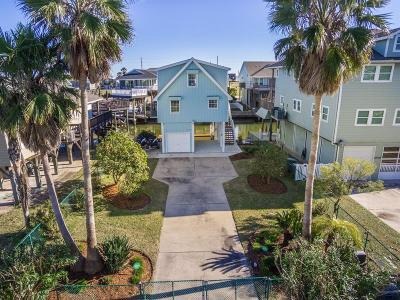 Galveston Single Family Home For Sale: 22103 Zapata