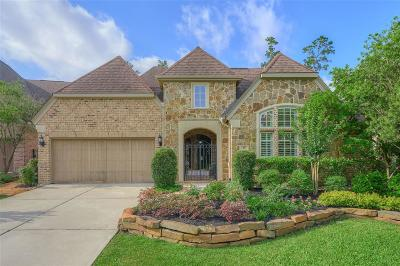 The Woodlands TX Single Family Home For Sale: $665,000