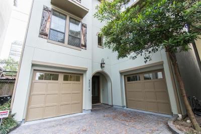 Houston Single Family Home For Sale: 2217 Nantucket Drive #D