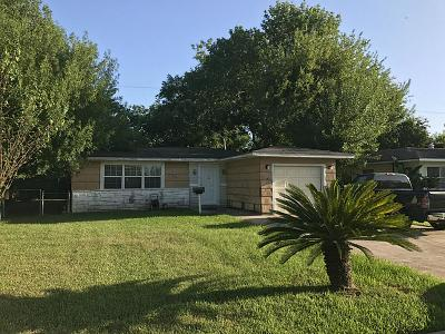 Houston TX Single Family Home For Sale: $135,000