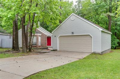 The Woodlands TX Single Family Home For Sale: $184,000