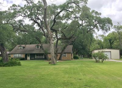 Angleton Single Family Home For Sale: 320 County Road 201 Aka Bayou Wood Trl