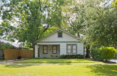 Houston Single Family Home For Sale: 744 E 7th Street