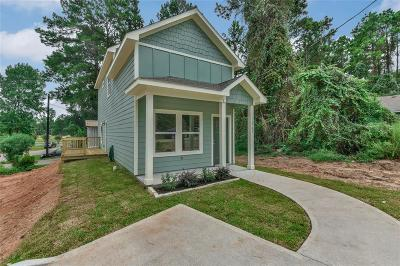 Montgomery Single Family Home For Sale: 16791 Crestmont