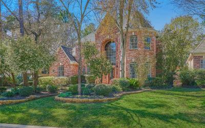 The Woodlands Single Family Home Option Pending: 15 Graceful Elm Court