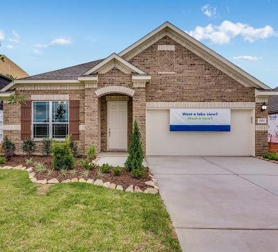 Manvel Single Family Home For Sale: 2618 Newport Lake Boulevard