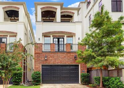 Houston Single Family Home For Sale: 1235 W Bell Street #B