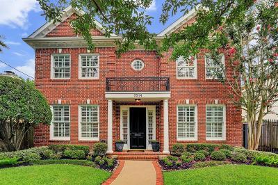 Houston Single Family Home For Sale: 3814 Southwestern Street