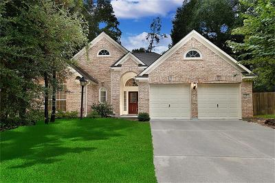 The Woodlands Single Family Home For Sale: 3 Water Elm Place