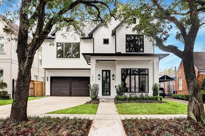 Houston Single Family Home For Sale: 3027 Quenby Avenue