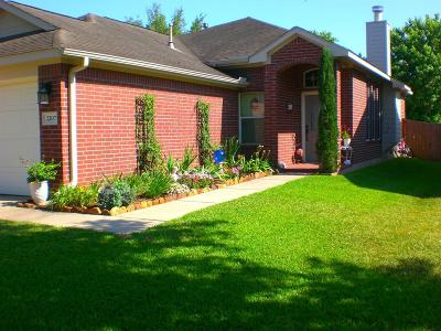 Conroe Single Family Home For Sale: 2207 Highland Hills Dr