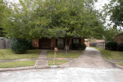 Missouri City Single Family Home For Sale: 1807 Hunters Court