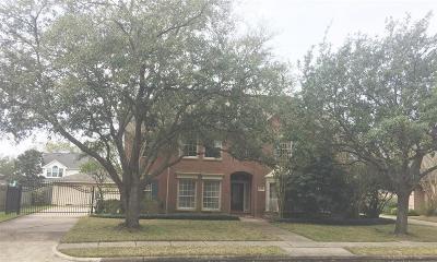 Katy Single Family Home For Sale: 3322 S Lake Village Drive