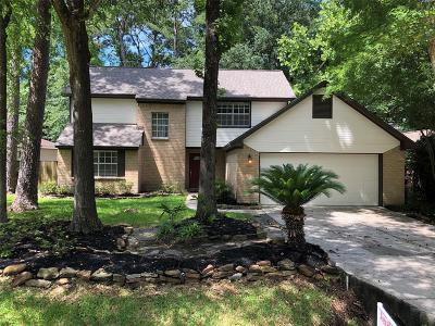 The Woodlands Single Family Home For Sale: 8 Hickory Oak Drive