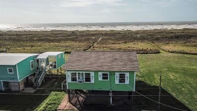 Matagorda Single Family Home For Sale: 334 Beachfront Drive