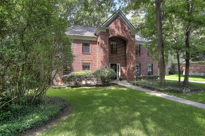 The Woodlands Single Family Home For Sale: 75 Breezy Point Place
