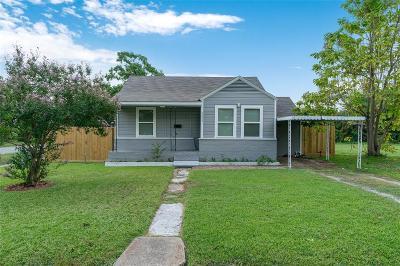 Houston Single Family Home For Sale: 9534 Rhode Island Street