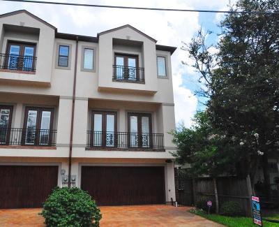Houston Condo/Townhouse For Sale: 1212 W Drew Street #B