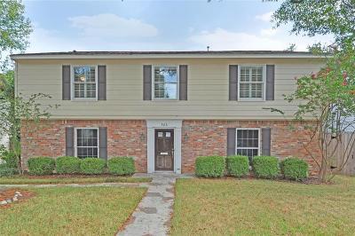 Houston Single Family Home For Sale: 506 Kickerillo Drive