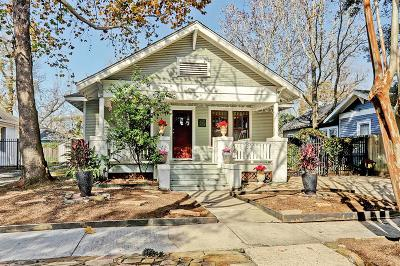 Houston Single Family Home For Sale: 911 Bayland Avenue