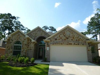 Montgomery Single Family Home For Sale: 12806 Lakeshore