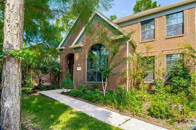The Woodlands Single Family Home For Sale: 19 Treestar Place