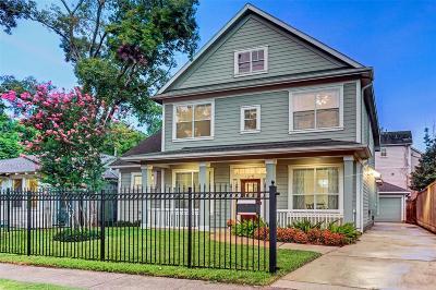 Houston Single Family Home For Sale: 1315 Willard Street
