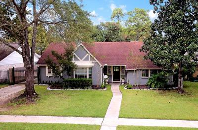 Houston Single Family Home For Sale: 1106 Chantilly Lane