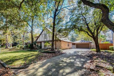 Kingwood TX Single Family Home For Sale: $286,000