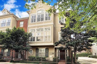 Houston Condo/Townhouse For Sale: 2230 Bancroft Street