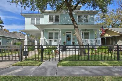 Houston Single Family Home For Sale: 213 E 24th Street