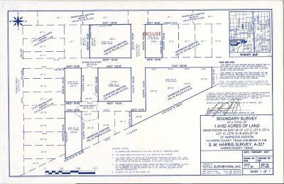 Residential Lots & Land For Sale: 2701 Harrington Street