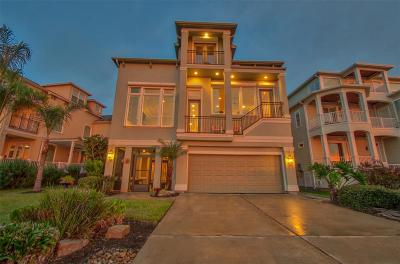 Kemah Single Family Home For Sale: 211 W Shore Drive