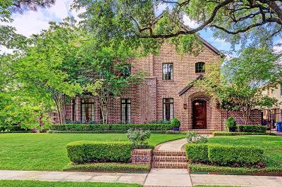 Houston Single Family Home For Sale: 2248 Stanmore Drive