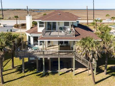 Galveston Single Family Home For Sale: 19327 Shores