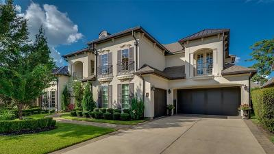 The Woodlands Single Family Home For Sale: 14 N Player Crest Circle