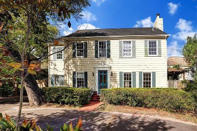 Houston Single Family Home For Sale: 1206 S Shepherd Drive