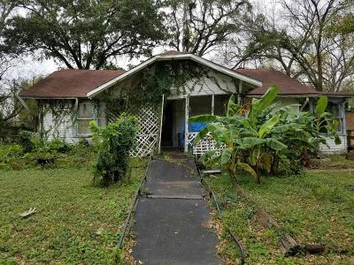 Houston Single Family Home For Sale: 8301 Concord Street
