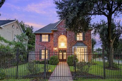 Montrose, Montrose Amended, Montrose Annex, Montrose Terrace, Montrose/Lower Westheimer, Montrose/Museum Cond 5000, Montrose/Museum District Single Family Home For Sale: 419 W Alabama Street