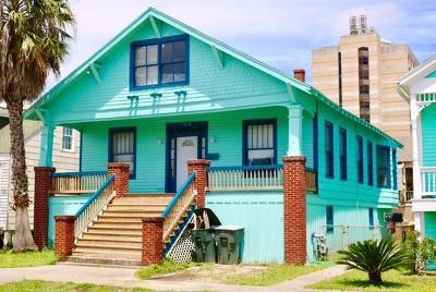 Galveston Single Family Home For Sale: 1012 Post Office Street