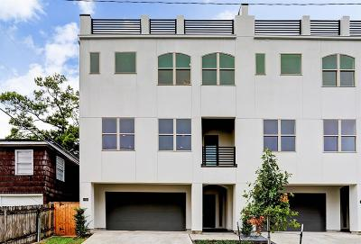 Houston Condo/Townhouse For Sale: 1406 Eberhard Street