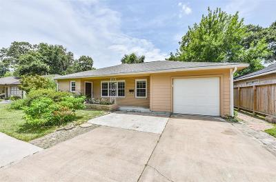 Houston Single Family Home For Sale: 9629 Westview Drive