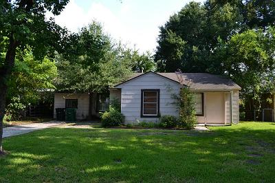 Houston Single Family Home For Sale: 6626 Rolla