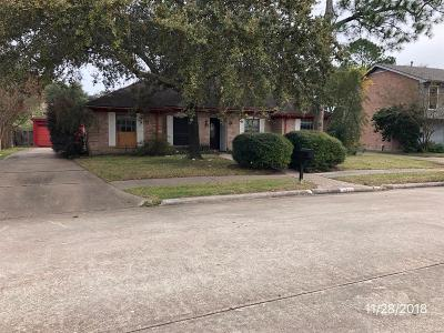 Houston TX Single Family Home For Sale: $130,050